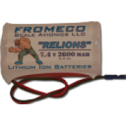 Fromeco 2600 mah Battery pack Deans lead