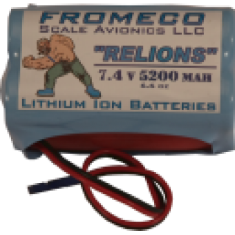 Fromeco 5200 mah Battery pack Deans lead