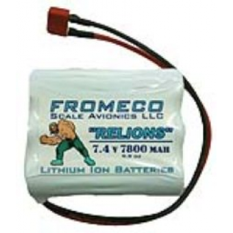 Fromeco 7800 mah Battery pack Deans lead