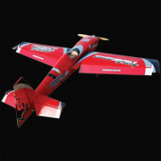 Top Dawg Aviation 50cc Edge 540 Red Black Silver scheme