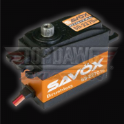 Savox SB-2270SG High Voltage Monster Torque Brushless Steel Gear Digital Servo