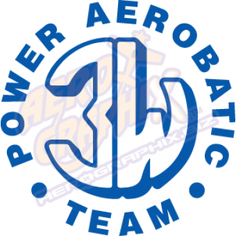 3W Aerobatic Team Logo SIngle Color
