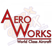 Aero Works Stacked Logo