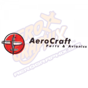Aerocraft Logo (Black/Red)