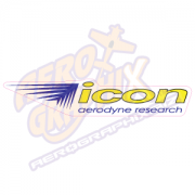 Aerodyne Icon Logo (Blue/Yellow)