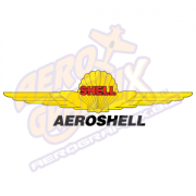 AeroShell Wing Logo (Black/Yellow/Red)