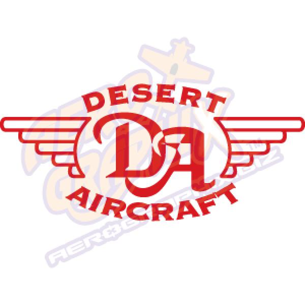 Desert Aircraft Logo Single Color