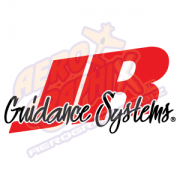 JR Guidance Systems Logo Red/Black with White outline
