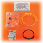 Aero Graphix Twin Smoke System Finish Kit