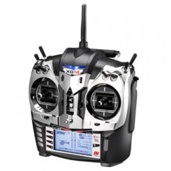 JR XG14 14CH DMSS SYSTEM W/RG1131BPU POWER BUSS RX